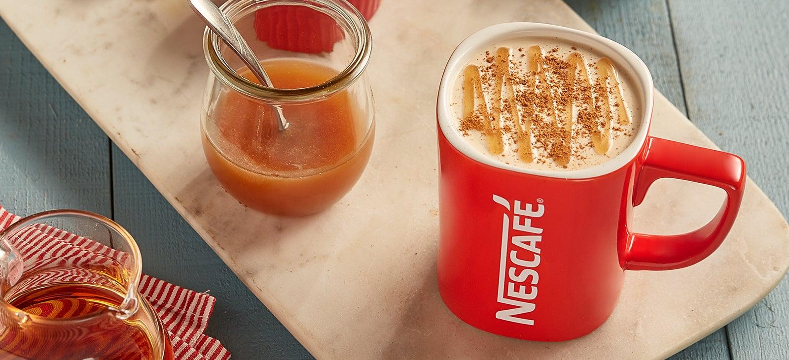 Cà phê sữa với các hương vị độc đáo